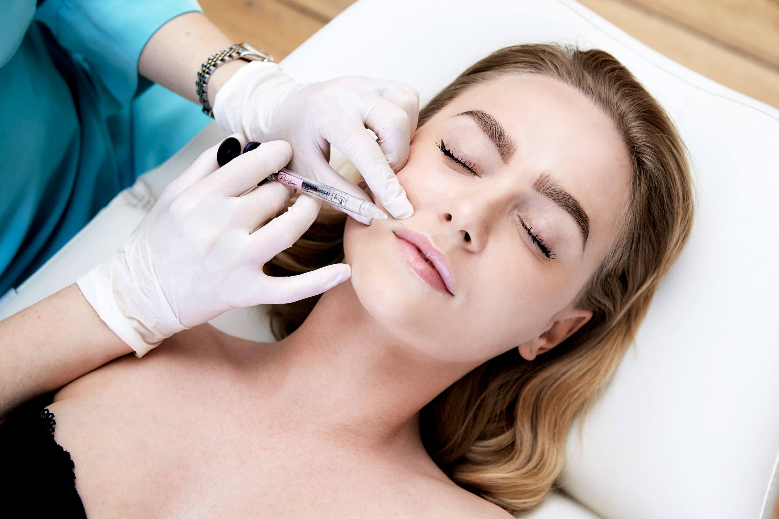 Læbebehandling med Restylane